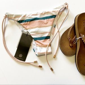 VIX Swimwear Chimera Side Tie colorblock Bikini